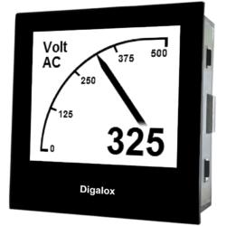 TDE Instruments Digalox DPM72-AV2 digitales Multimeter Einbauinstrument