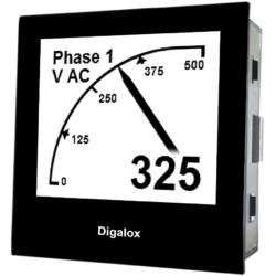 TDE Instruments Digalox DPM72-AVP digitales Multimeter Einbauinstrument