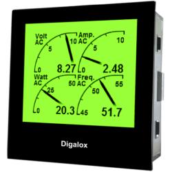 TDE Instruments Digalox DPM72-MP digitales Multimeter Einbauinstrument