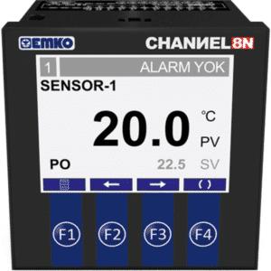 EMKO CHANNEL8-N Pt100 Mehrkanal Temperaturregler