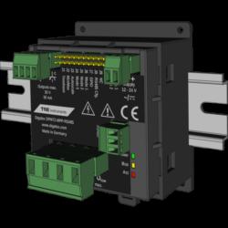 TDE Instruments Digalox DPM72-MP+-DIN Multimeter Messgerät für Hutschiene