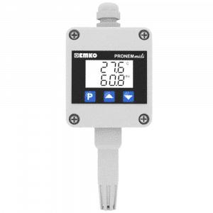 EMKO Pronem midi LCD W Temperatursensor und Feuchtigkeitssensor