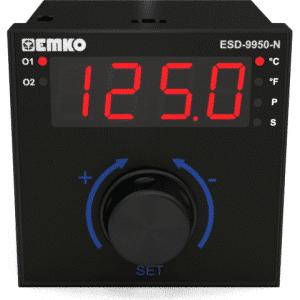 EMKO ESD-9950-N 2-Punkt und PID Temperaturregler mit Drehregler