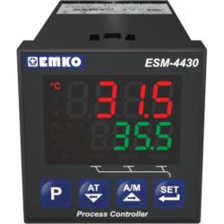 EMKO ESM-4430 PID-Prozessregler für Temperatursensoren und Analogsignale