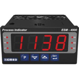 EMKO ESM-4900 Prozessanzeige für Temperatursensoren und Analogsignale