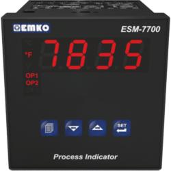 EMKO ESM-7700 Prozessanzeige für Temperatursensoren und Analogsignale