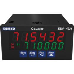 EMKO EZM-4931 Vorwahlzähler für Drehgeber mit 200 kHz Zähleingang