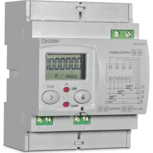 CIRCUTOR CEM-C31 3-Phasen Wechselstromzähler zur Verwendung mit Stromwandlern