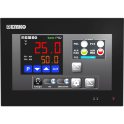 EMKO proop.black-10L HMI Touch Panel mit 10.1″ TFT Touchscreen, Ethernet und Wi-Fi