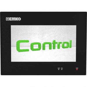 EMKO proop.black-7C HMI Touch Panel mit 7″ TFT Touchscreen, Ethernet, Wi-Fi, digitalen Eingängen und digitalen Ausgängen