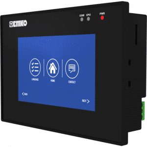 EMKO proop.black-4.eco HMI Touch Panel mit 4.3″ TFT Touchscreen