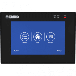 EMKO proop.black-5.eco HMI Touch Panel mit 5″ TFT Touchscreen