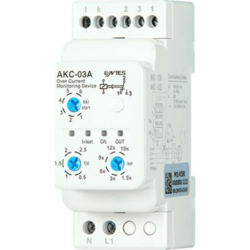 ENTES AKC-03A Stromüberwachungsrelais inklusive Stromwandler CT-25