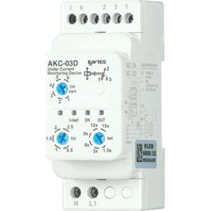 ENTES AKC-03D Stromüberwachungsrelais inklusive Stromwandler CT-25