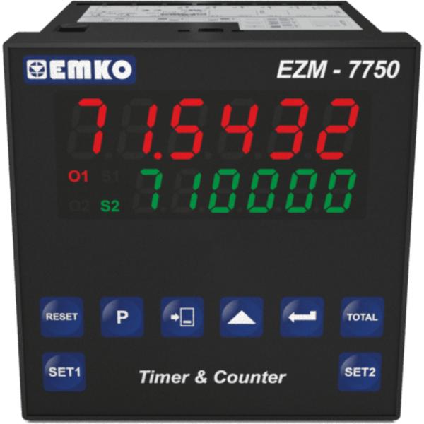 EMO EZM-7750 Vorwahlzähler und Timer