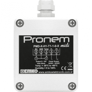 EMKO Pronem midi PMD-D Temperatursensor und Feuchtigkeitssensor
